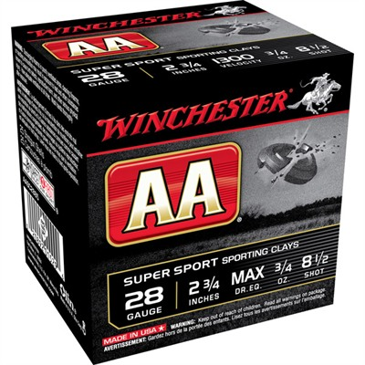 Winchester Aa Supersport Ammo 28 Gauge 2-3/4