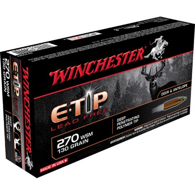 E-Tip Lead Free Rifle Ammo