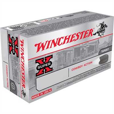 Winchester Cowboy Ammo 45 Long Colt 250gr Lead Rn - 45 Long Colt 250gr Lead Round Nose 50/Box