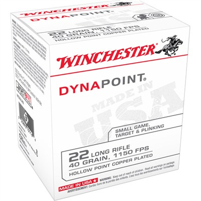 Dynapoint Ammo 22 Long Rifle 40gr Dynapoint - 22 Long Rifle 40gr Dynapoint 500/Box