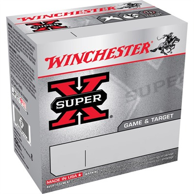 Winchester Super-X Game & Target Ammo 12 Gauge 2-3/4