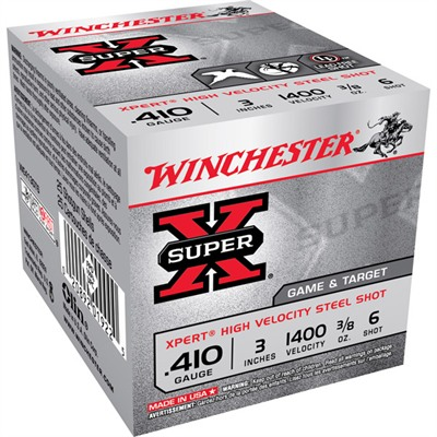 Winchester Super-X Game & Target Ammo 410 Bore 2-3/4