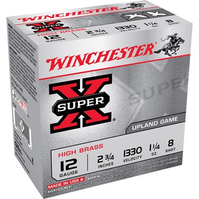 Winchester Super-X High Brass Ammo 12 Gauge 2-3/4