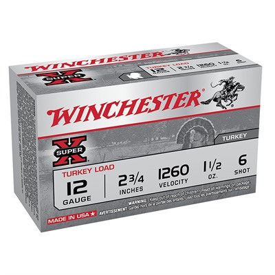 Winchester Super-X Turkey Ammo 12 Gauge 2-3/4