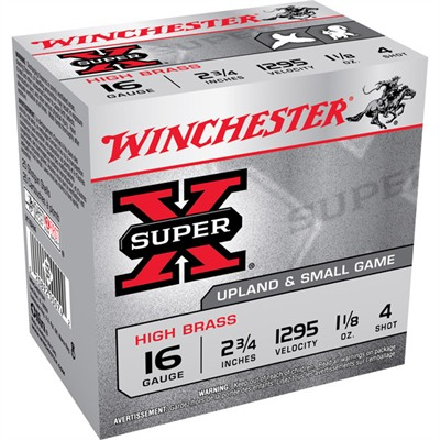 Winchester Super-X High Brass Ammo 16 Gauge 2-3/4