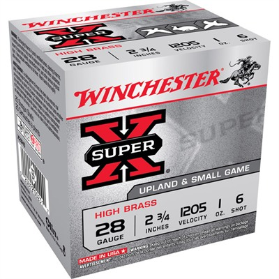 Winchester Super-X High Brass Ammo 28 Gauge 2-3/4