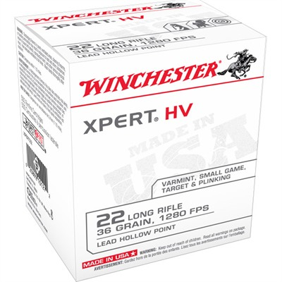 Xpert Ammo 22 Long Rifle 36gr Lead Hollow Point - 22 Long Rifle 36gr Lead Hollow Point 50/Box