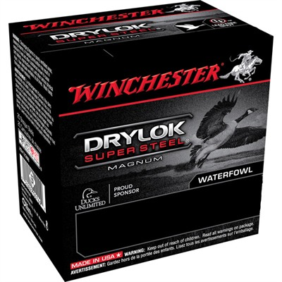"Drylok Ammo 12 Gauge 3-1/2"" 1-9/16 Oz #bbb Steel Shot - 12 Gauge 3-1/2"" 1-9/16 Oz #bbb Ste"