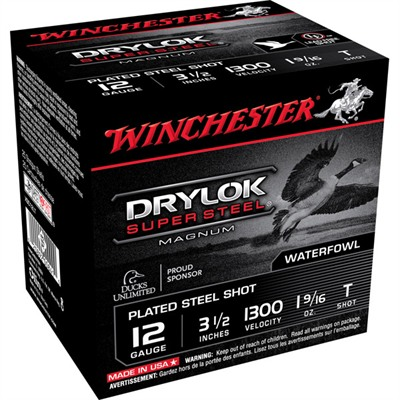 "Drylok Ammo 12 Gauge 3-1/2"" 1-9/16 Oz #t Steel Shot - 12 Gauge 3-1/2"" 1-9/16 Oz #t Steel S"