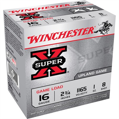 Winchester Super-X Heavy Game Load Ammo 16 Gauge 2-3/4
