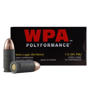 Polyformance 9mm 115gr Fmj Ammo