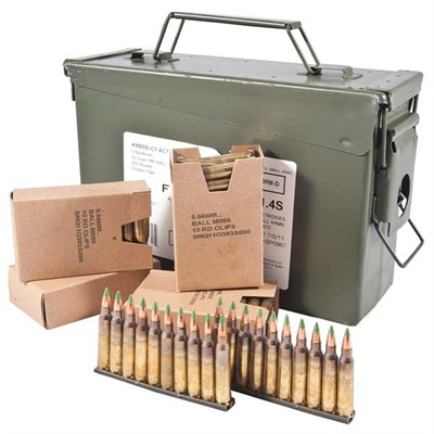5.56mm Xm855 Rifle Ammunition - Xm855 5.56mm 62gr 420-Round Ammo Can