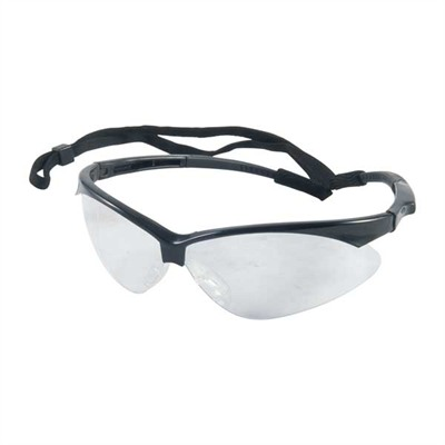 Outback Shooting Glasses - Clear Outback   Shooting Glasses Black