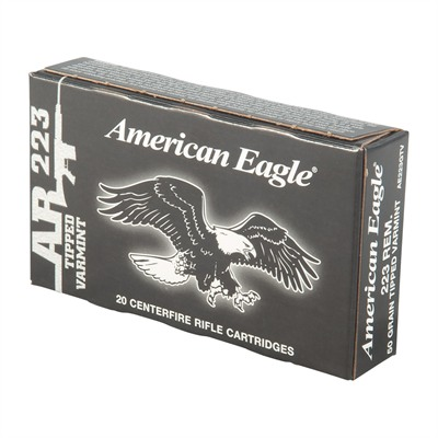 American Eagle American Eagle Ammo 223 Remington 50gr Tipped Varmint