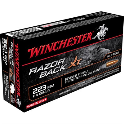 Razor Back Xt Rifle Ammo