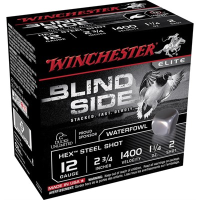 Winchester Blind Side Ammo 12 Gauge 2-3/4