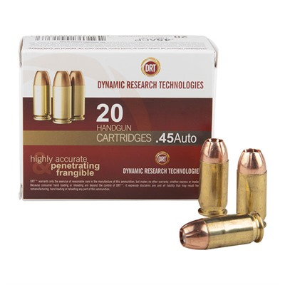 Frangible Handgun Ammo