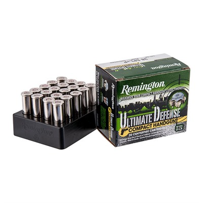 Remington Ultimate Defense Ammo 38 Special 125gr Bjhp 38 Special 125gr Brass Jacketed Hollow Point 20 Box