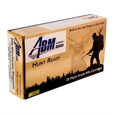 Image of Abm Ammo Hunt Ready Ammo 300 Win Mag 168gr Berger Classic Hunter