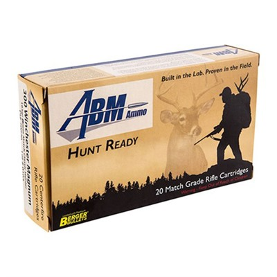 Abm Ammo 105-000-415 Hunt Ready Ammo 300 Win Mag 185gr Berger Classic Hunter
