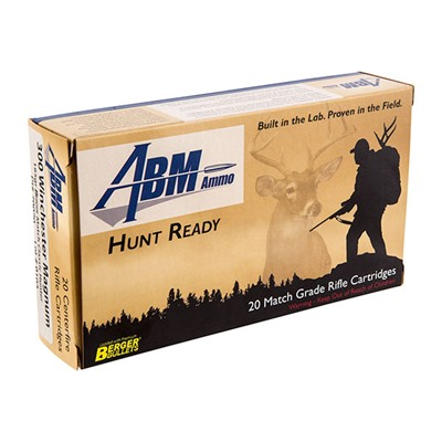Hunt Ready Hunting Ammo - .300 Win Mag 185gr Berger Match Classic Hunter 20/Box