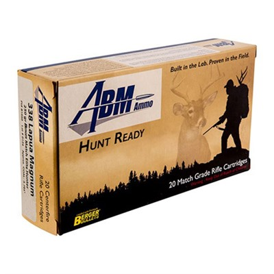 Abm Ammo Hunt Ready Ammo 338 Lapua Magnum 250gr Berger Elite Hunter