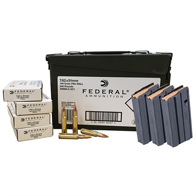 Xm80 Ammo Can W/Ar-308 Mags