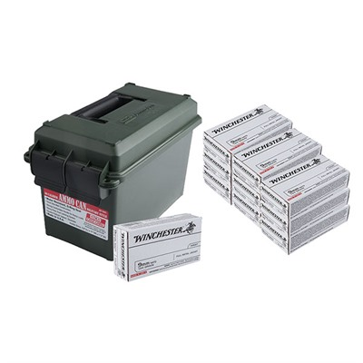 White Box Handgun Ammo Cans
