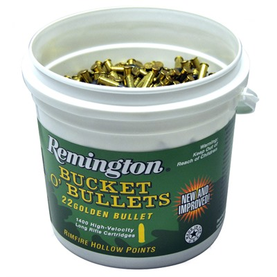 Golden Bullet Ammo 22 Long Rifle 36gr Cphp - 22 Long Rifle 36gr Copper Plated Hollow Point 1400/Box