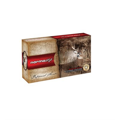 Norma American Ph Ammo 6.5mm Creedmoor 130gr Scirocco Ii - 6.5mm Creedmoor 130gr Bonded Boat Tail 20/Box