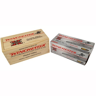 Super-X 22 Long Rifle 36gr Copper Plated Hp Limited Edition Box - 22 Long Rifle 36gr Cphp 500/Box