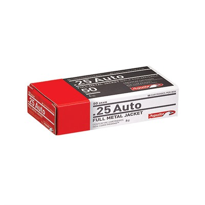 Handgun Ammo 25 Acp 50gr Handgun - 25 Acp 50gr Full Metal Jacket 50/Box