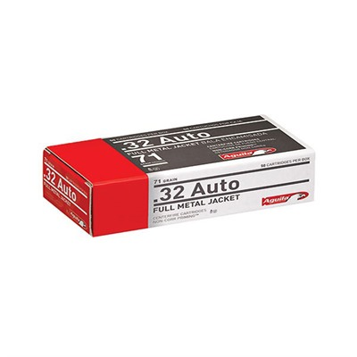 Handgun Ammo 32 Acp 71gr Handgun - 32 Acp 71gr Full Metal Jacket 50/Box