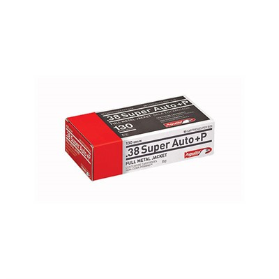 Handgun Ammo 38 Super +p 130gr Handgun - 38 Super +p 130gr Full Metal Jacket 50/Box