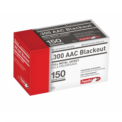 Image of Aguila 300 Aac Blackout 150gr Fmj Rifle Ammo