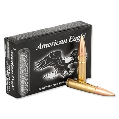 American Eagle American Eagle 300 Aac Blackout 220gr Otm Subsonic Ammunition