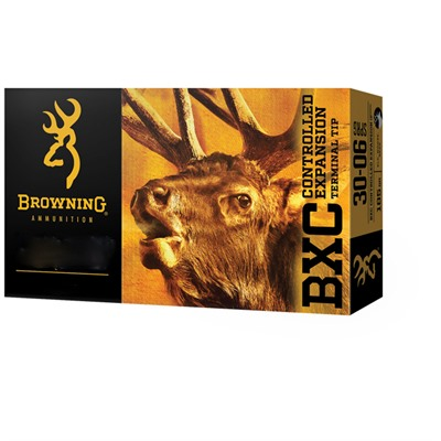 Browning Bxc Controlled Expansion 30-06 Springfield 185gr Terminal Tip