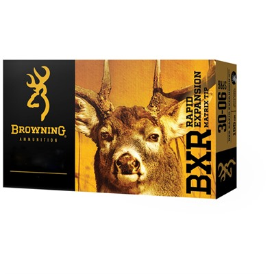 Browning Bxr Rapid Expansion 30-06 Springfield 155gr Matrix Tip