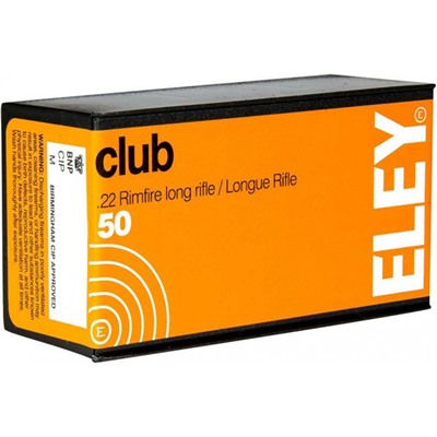 Club Ammo 22 Long Rifle 40gr Lead Round Nose - 22 Long Rifle 40gr Lead Round Nose 50/Box