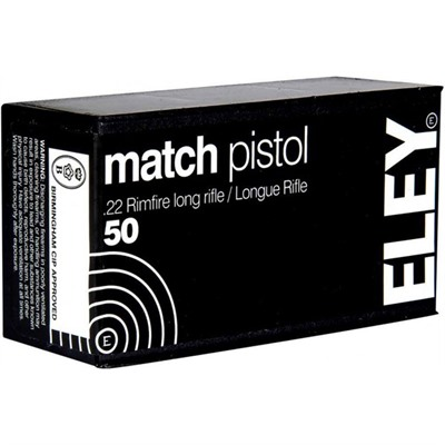 Match Pistol Ammo 22 Long Rifle 40gr Lead Round Nose - 22 Long Rifle 40gr Lead Round Nose 50/Box