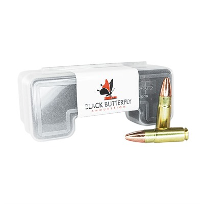 Black Butterfly Ammunition Premium High Velocity Ammo 458 Socom 300gr Tsx Fb
