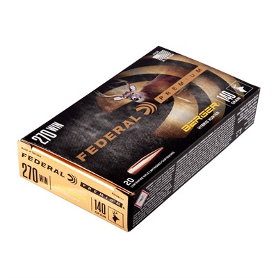 Federal Premium Hybrid Hunter 270 Winchester Ammo - 270 Winchester 140gr Berger Hybrid Hunter 20/Box