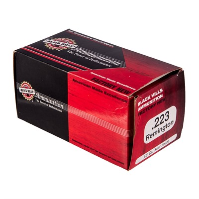 Black Hills Ammunition 223 Remington 55gr Soft Point Ammo - 223 Remington 55gr Sp 50/Box