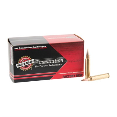 Black Hills Ammunition 223 Remington 68gr Heavy Match Hollow Point Ammo - 223 Remington 68gr Heavy Match Hp 50/Box