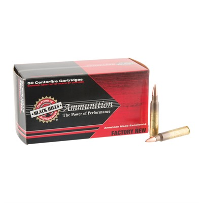 Black Hills Ammunition 5.56x45mm Nato 50gr Tsx Optimised Ammo - 5.56x45mm Nato 50gr Tsx Optimized 500/Case