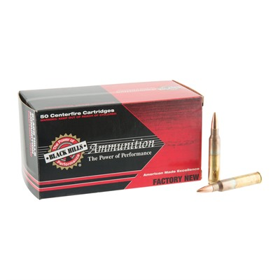 Black Hills Ammunition 5.56x45mm Nato 77gr Open Tip Match Ammo - 5.56x45mm Nato 77gr Otm 500/Case