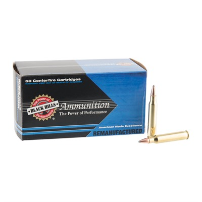 Black Hills Ammunition Remanufactured Ammo 223 Remington 55gr Soft Point 223 Remington 55gr Sp 50 Box