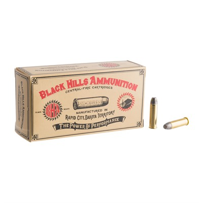 Cowboy Action Ammo 32 H&R 90gr Lead Flat Point - 32 H&R 90gr Fpl 50/Box