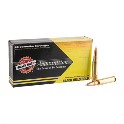 Black Hills Gold Ammo 308 Winchester 180gr Accubond - 308 Winchester 180gr Accubond 100/Case
