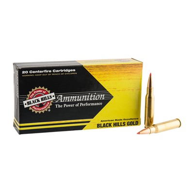 Black Hills Gold Ammo 308 Winchester 150gr Gmx - 308 Winchester 150gr Gmx 20/Box